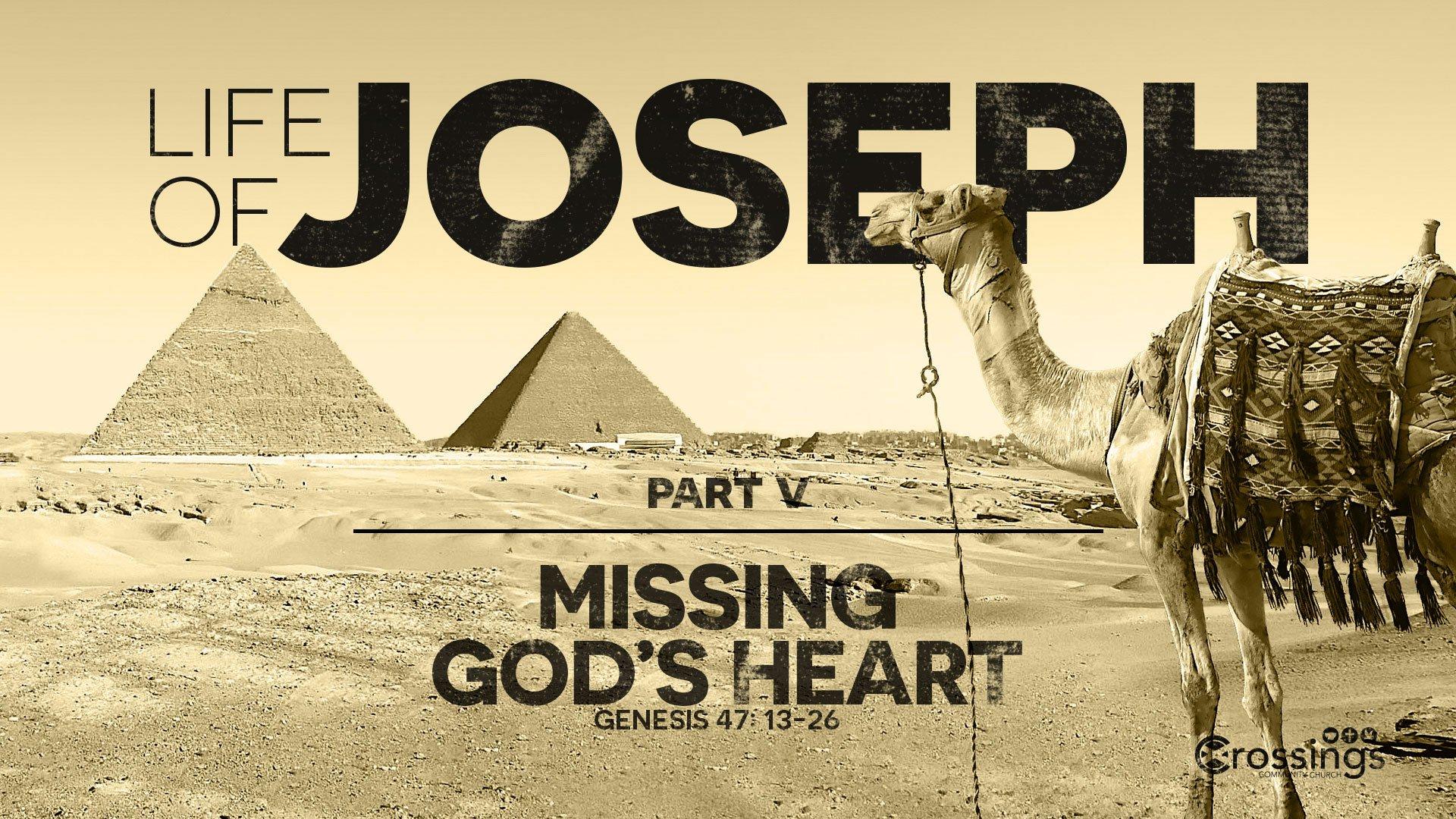 missing God's heart